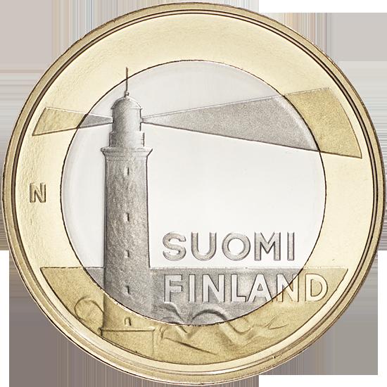 Финляндия 5 евро 2013 г. Архитектура провинций - Аланды