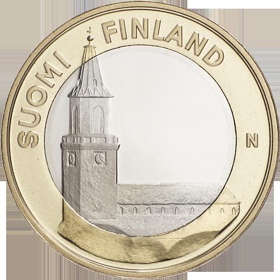 Финляндия 5 евро 2013 г. Архитектура провинций