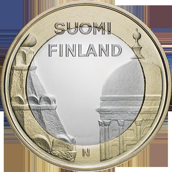 Финляндия 5 евро 2012 г. Архитектура провинций - Уусимаа