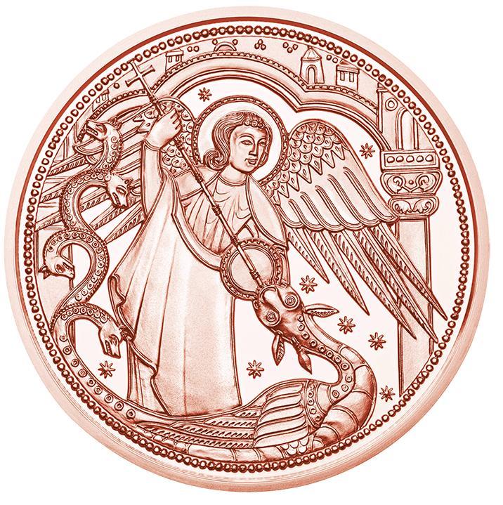 Австрия  10 евро 2017 г. Ангел-хранитель Михаил