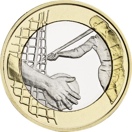 Финляндия 5 евро 2016 г.  Легкая атлетика