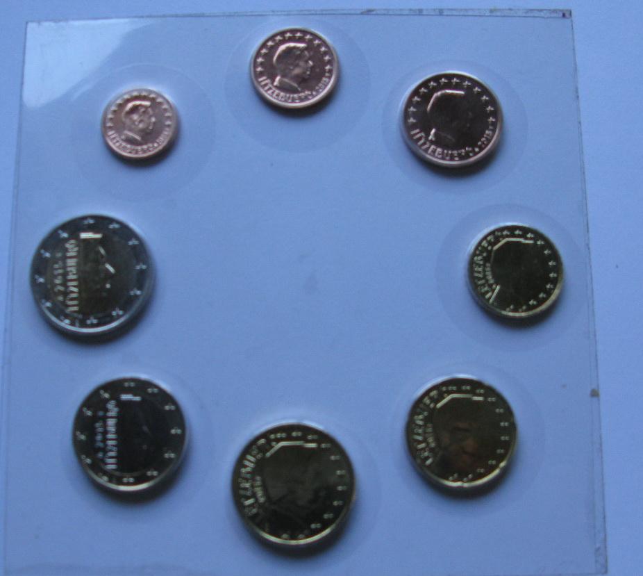 Люксембург набор евро  2015 UNC