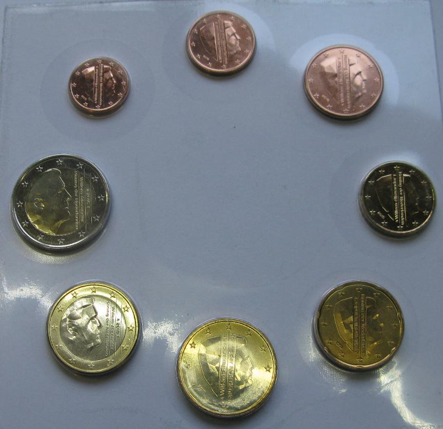 Нидерланды набор евро  2015 г. UNC