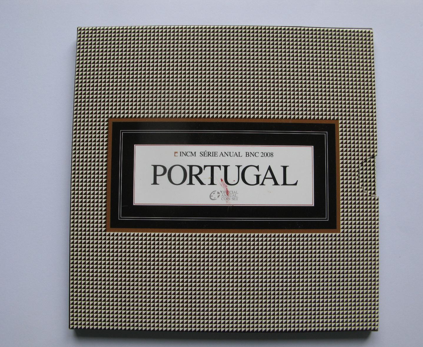 Португалия официальный набор 2008 г.