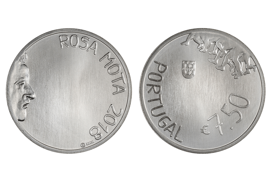 Португалия 7,5 евро 2018 г. Роза Мота