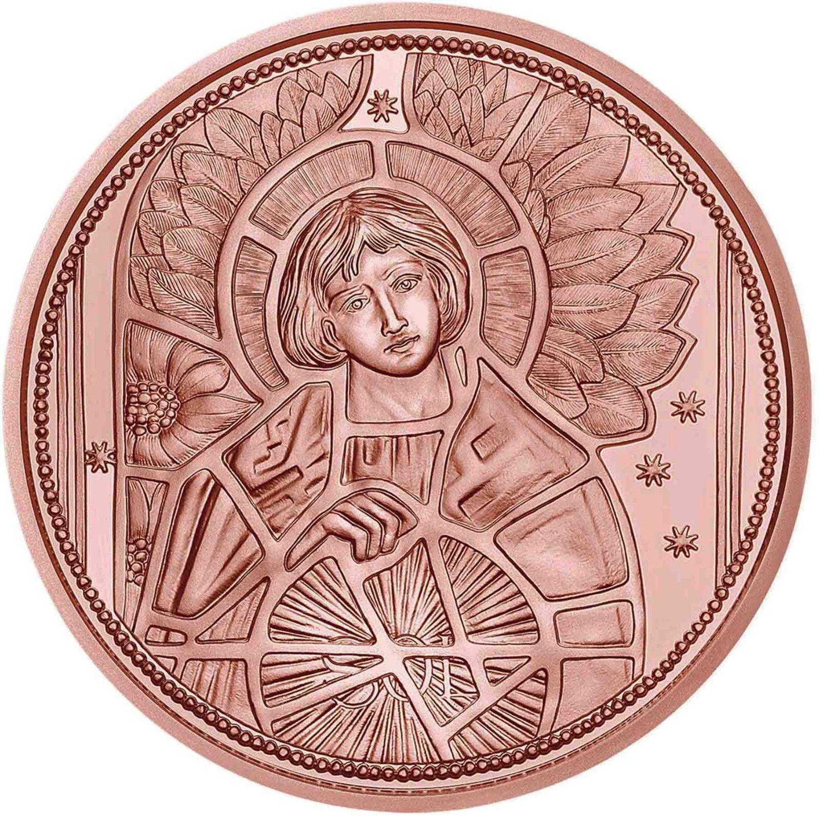 Австрия 10 евро 2018 г. Архангел Уриил