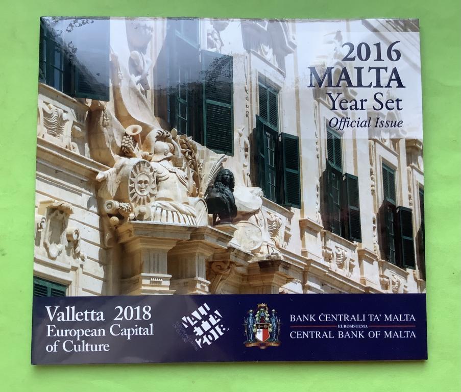 Мальта официальный набор 2018 г. Валлетта.