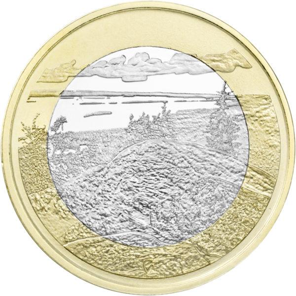 Финляндия 5 евро 2018 г. Пейзаж Коли