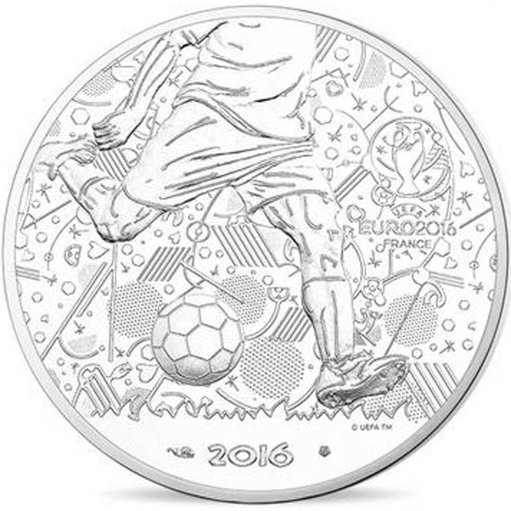 Франция 10 евро 2016 г. Чемпионат Европы по футболу