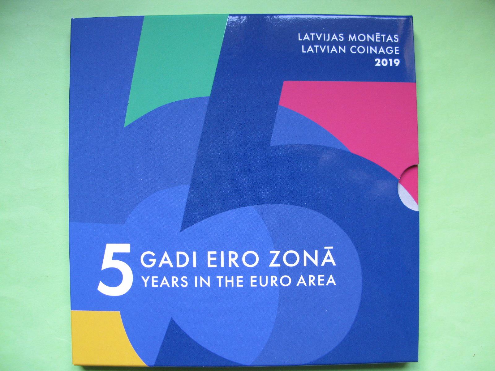 Латвия официальный набор 2019 г.